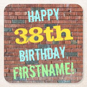 Happy Birthday 38 Kitchen Dining Supplies