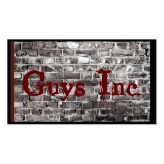 Brick Wall Gray Rustic Graffiti Business Card