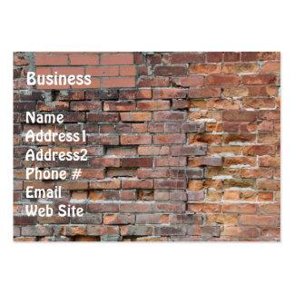 Brick Wall Grunge Business Card