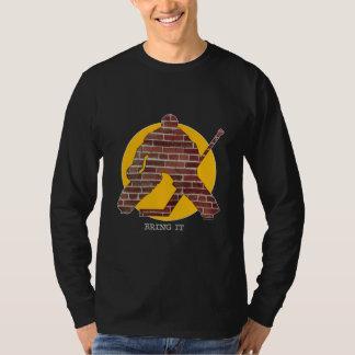 Brick Wall Hockey Goalie Shirt