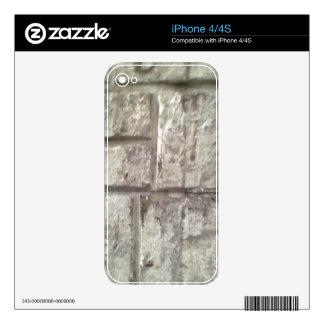 Brick Wall iPhone 4 Decal