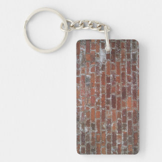 Brick Wall Keychain