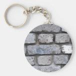 Brick wall keychains