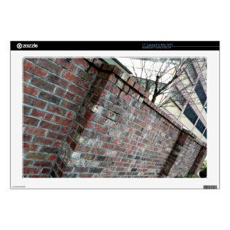 Brick Wall Laptop Decals