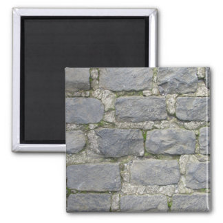 Brick Wall magnet, customize 2 Inch Square Magnet