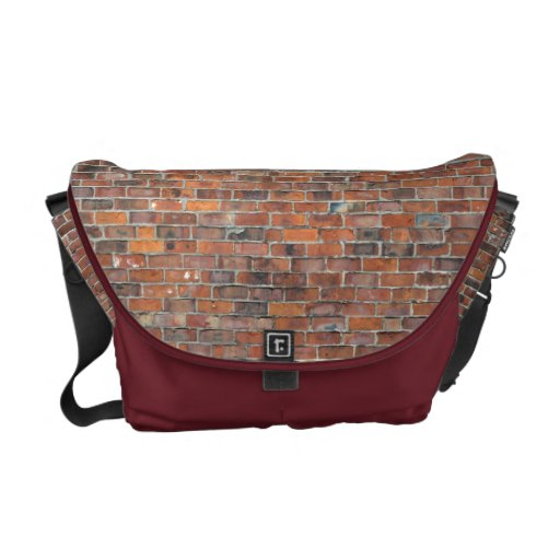 Brick Wall Messenger Bag