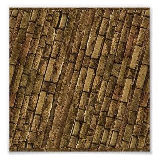 Brick Wall Pattern Photo Art