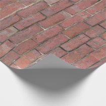Brick Wall Pattern Wrapping Paper