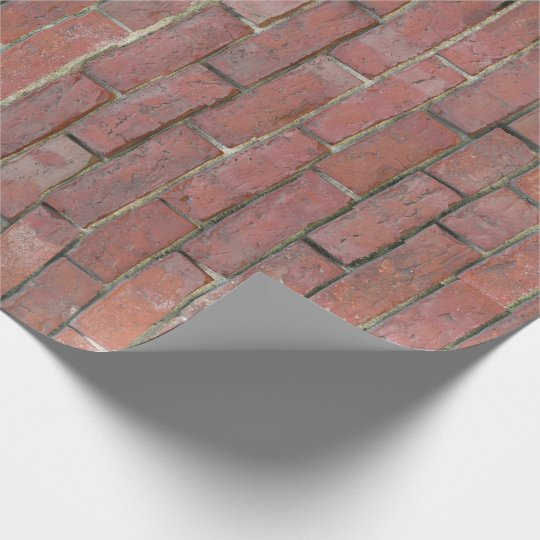 Brick Wall Pattern Wrapping Paper Zazzle Amazing Brick Pattern Paper