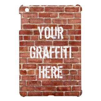 Brick Wall Personalized Graffiti Cover For The iPad Mini