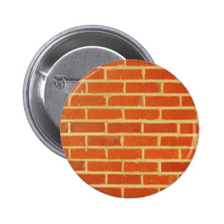 Brick wall pinback button