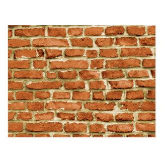 Brick Wall Post Card