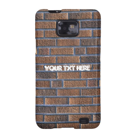 Brick Wall Samsung Galaxy SII Cover