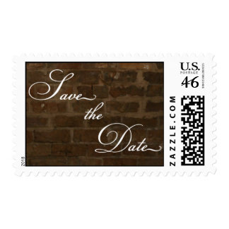 Brick Wall - Save the Date Postage
