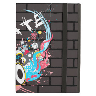 Brick Wall Skate Graffiti Logo With Board Cover For iPad Air