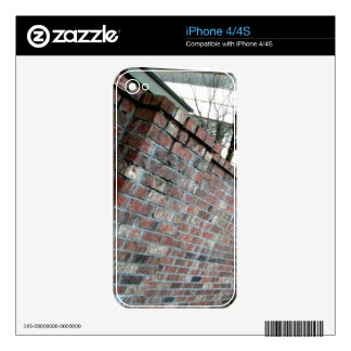 Brick Wall Skins For The iPhone 4S
