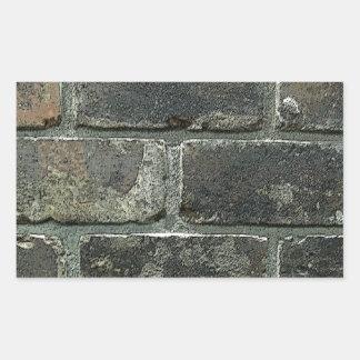 Brick Wall Rectangle Sticker