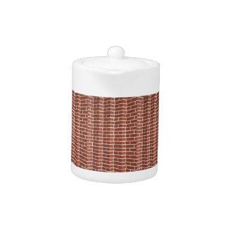 Brick Wall Teapot