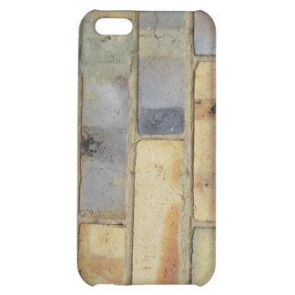 Brick wall tech texture iPhone 5C case