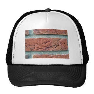 Brick Wall Texture Mesh Hats
