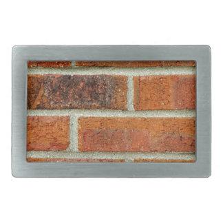 Brick Wall Texture Rectangular Belt Buckles