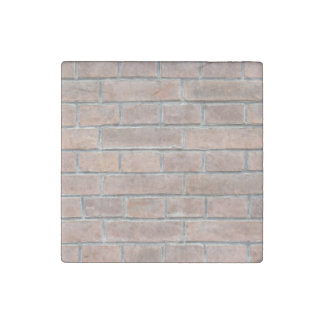 Brick wall texture stone magnet