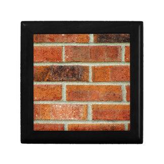 Brick Wall Texture Trinket Box