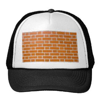 Brick wall trucker hat