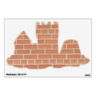 Brick Wall Wall Sticker
