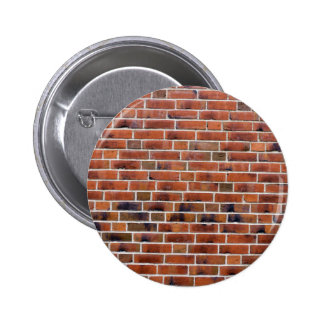 Brick wall with joints 2 inch round button