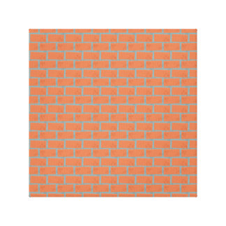 "Brick Wall Wrapped Canvas 12"" x 12"", 1.5"", Single"