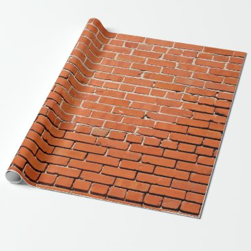RossiCards Brick Wall Wrapping Paper