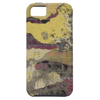 Brick Wall Yellow Purple TPD iPhone 5 Case