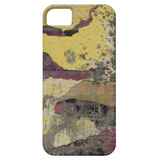 Brick Wall Yellow Purple TPD iPhone 5 Cover