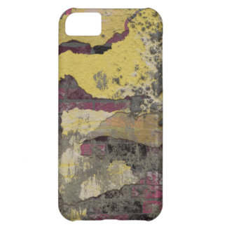 Brick Wall Yellow Purple TPD iPhone 5C Cover