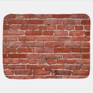 Brick Wall Receiving Blanket