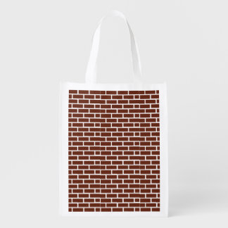 BRICK WALL GROCERY BAG