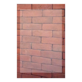 Brick Walls Texture Background Stationery