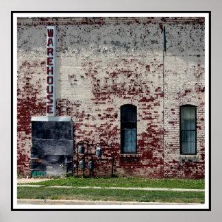 Brick Warehouse Poster