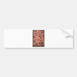 Brick Work Bumper Sticker