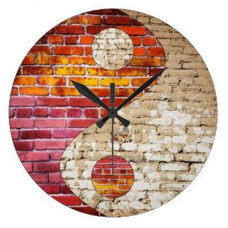 Brick Yin Yang Clock