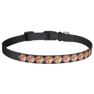 Brick Yin Yang Dog Collar