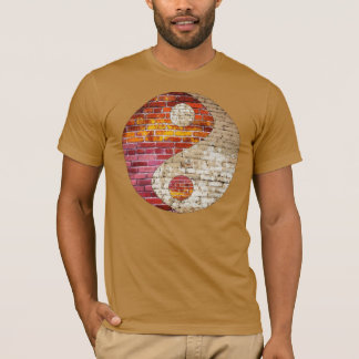 Brick Yin Yang Men's T Shirt