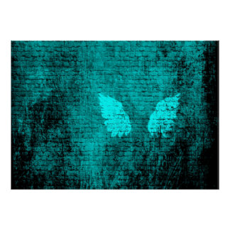 Bricked Wings Poster