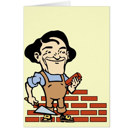Bricklayer Card
