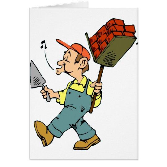 Bricklayer Card