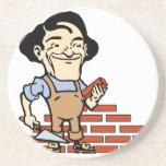 Bricklayer Coasters