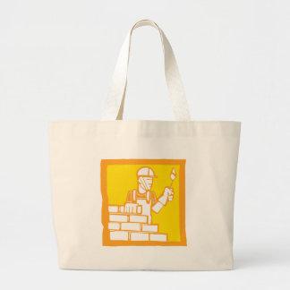 Bricklayer Large Tote Bag
