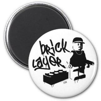 Bricklayer Magnet