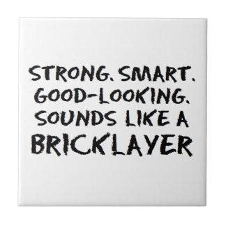 Bricklayer sound tile